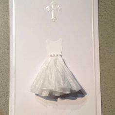 Emma's First Communion invitations -- the front.