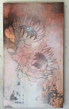 Protea abstract - Sam Brown