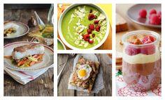 4 recetas de comida saludable, rápidas!!