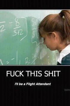 Flight attendant....