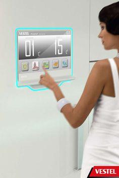 Hi-Tech Communicating Kitchens. Vestel Assist Streamlines All Activities that Revolve Around Food #gadgets