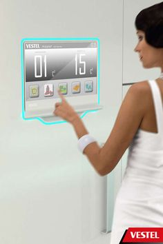 Hi-Tech Communicating Kitchens. Vestel Assist Streamlines All Activities that Revolve Around Food #gadgets