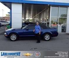 Congratulations to Brandi Hess on your #Ford #Mustang purchase from Woody Wooden at Lake Country Chevrolet Cadillac! #NewCarSmell