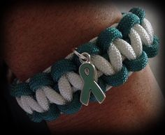 Cervical Cancer Awareness Paracord
