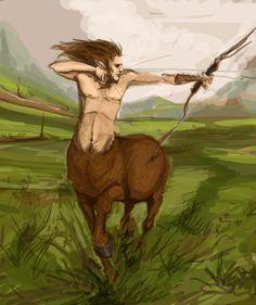 centaur archer by Werdandi.deviantart.com on @deviantART
