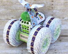 Vikings diaper cake, sports baby shower, sports diaper cake, unique baby gift, baby shower gift, diaper cake boy, baby shower boy, baby boy