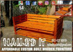 Custom day bed. 2 Single bed bases with wheels on the bottom base. Can also be used as a couch by simply adding cushions. Perfect for small areas. Affordable, custom built furniture. Contact 0834376919 or naileditpallets@gmail.com. #naileditpalletwoodfurniture #palletdaybed #palletwooddaybed #palletbed #custompalletfurniture #custompalletwoodfurnituredurban #palletfurnituredurban #daybed #daybedsofa #nailedpalletfurnituredurban #naileditcustombuiltpalletfurniture