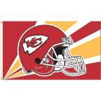 3 ft. x 5 ft. Polyester Kansas City Chiefs Flag