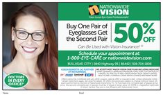 db11c12cfec Save some green this month at  NationwideVision with their  BOGO eyeglass  special 😎
