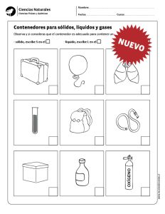Contenedores para sólidos, líquidos y gases Natural, Google, Properties Of Matter, States Of Matter, Reading Comprehension, Science, Reading, Nature