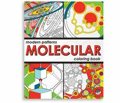 Molecular Coloring Book by MindWare - $6.95