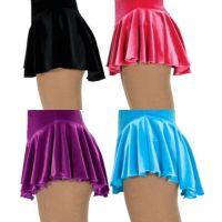 figure skating pink skirts | skating skirts adult traditional style velvet ice skating skirts ...