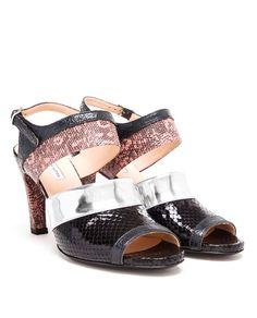 DRIES VAN NOTEN | Snakeskin Sandals