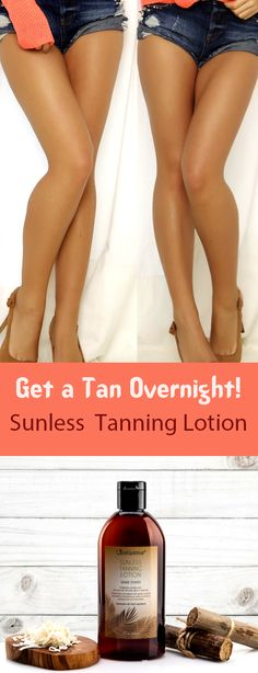 Sunless Tanning Lotion - Dark Tones / Tanning Skin Helpers / Works greatly noticeable after one use stays for about 4 to 5 days. Goes on easily dries quickly. Looks very natural! http://skintagremovalhelp.com/skin-tags-on-eyelids/