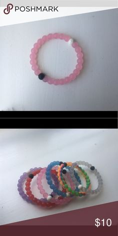 Pink Lokai bracelet. BRAND NEW. SIZE MEDIUM Lokai bracelet in pink. Brand new. Check other listings for the rest of the colors! Lokai Jewelry Bracelets