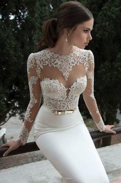 Самый сексуальные свадебные платья