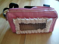 DIY Recycled Small Pet Carrier Tutorial