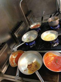 Chef al lavoro - #Ristorante Piccolo Arancio #Roma