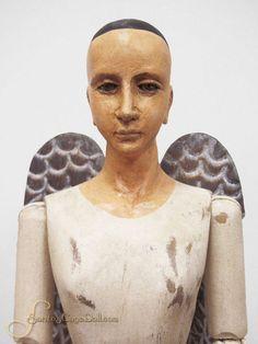 Santos Angel with Metal Wings