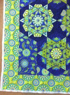 kaleidoscope / serendipity quilt