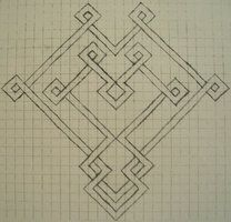 celtic graph paper heart by tattoofuzzy on deviantart crafty