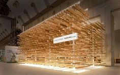 Elevating wood