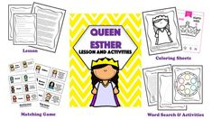 Alphabet Activities, Writing Activities, Bible Lessons, Art Lessons, Queen Esther Bible, Silly Sentences, Christian Preschool, Christian Missionary, Orphan Girl