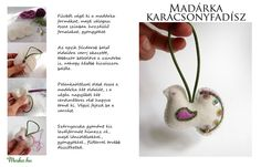 Csináld magad: Madárka karácsonyfadísz Adristól   #xmas #christmas #decor #DIY Holiday Ornaments, Christmas Decorations To Make, Holiday Decor, Felt Crafts, Embellishments, Stitching, Xmas, How To Make, Blog