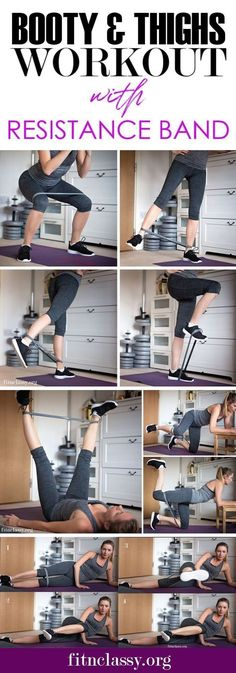 home leg workout with bands - home leg workout ; home leg workout no weights ; home leg workout men ; home leg workout with bands ; home leg workout with weights ; home leg workout for men ; home leg workout videos Fitness Workouts, Band Workouts, Butt Workout, Fitness Tips, At Home Workouts, Fitness Motivation, Excersise Band Workout, Leg Workout With Bands, Excersise With Bands