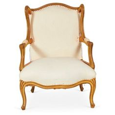 Check out this item at One Kings Lane! Wing Chair in Muslin