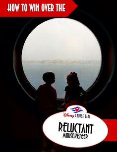 How to Win Over the Reluctant Mouseketeer. Tips and tricks to get your crew onboard the idea of embarking on their first Disney Cruise Line adventure! #DisneyCruise without any fussing! #NoCurmudgeons #DisneyMomProblems