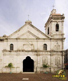 The beautiful church of Sto. Nino, Cebu City, Philippines