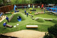 Fanciful Bespoke Mounds Playground | 10 Ridiculously Cool Playgrounds Part 7 - Tinyme Blog