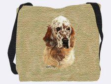 Australian Shepherd Hand Finished Large Woven Tote or Shoulder Bag with Magnetic Clasp Cotton Double Sided Made in USA by Artisan Textile Mill Pure Country Weavers Beagle Puppy, Corgi, Bloodhound, Vizsla, Tear, Dog Portraits, King Charles, Australian Shepherd, Dog Love