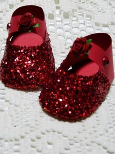 Ruby Slippers by kraftyaunt - Cards and Paper Crafts at Splitcoaststampers