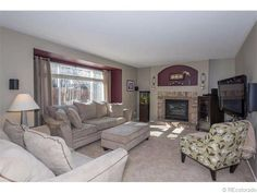 The kind of living room you could watch the Super Bowl in. Check out this amazing home just put on the marketing in the Highlands ranch area. You will fall in love with all the room it has to offer and the 2 decks you can have summer BBQ's on! 2724  White Oak Street Littleton, CO, 80129