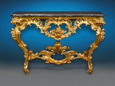 Louis XV Period Console Table | From a unique collection of antique and modern console tables at https://www.1stdibs.com/furniture/tables/console-tables/ Louis XV Period Console Table  Offered By MS Rau Antiques  $88,500