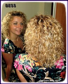 Cute medium length perm