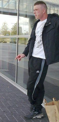 Tracksuit And Dress Shoes Chav