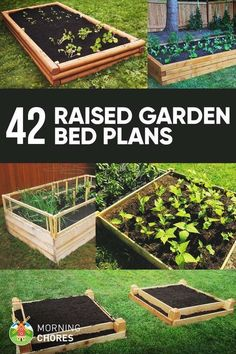 Planting A Raised Garden Bed Cedar Fence Posts Building Plans - Inexpensive raised garden bed ideas