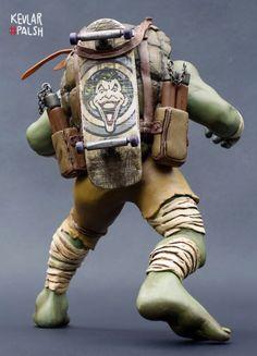 Michelangelo (Teenage Mutant Ninja Turtles) Custom Statue / Bust
