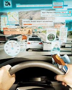 Have You Ever Wondered How Cool Augmented Reality Technology Would Be On Road When Integrated With