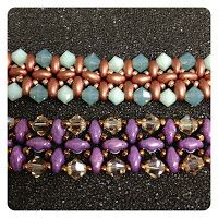 Twin Right Angle Weave Bracelet Instructor: Stephanie Dixon