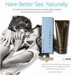 Have Better Sex. Naturally.
