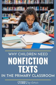 Nonfiction texts offer great benefits for young readers. Here are several reasons why children need nonfiction texts in the primary classroom.