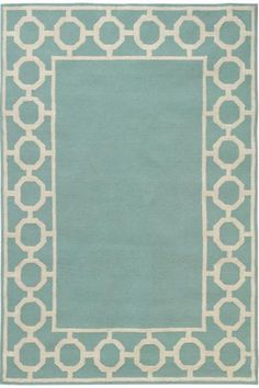 Espana Border Area Rug Add Sophistication to Any Room with this Decorative Border Rug