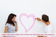 Single? Here are 5 simple tips to help you find your true love (finally!) - Some people are of the opinion that there is one person and one person only who can be their soul mate. But with our busy workaholic lifestyles, who has the time to seek out this special someone? Here's how... - http://www.urbanewomen.com/single-here-are-5-simple-tips-to-help-you-find-your-true-love-finally.html