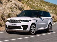 jaguar land rover reveals its hybrid-electric SUV, the range rover sport and confirms all vehicles will have plug-in electric options within three years. Range Rover Evoque, Range Rover Weiß, Range Rover Sport Price, Range Rover Sport 2018, Landrover Range Rover, Jaguar Land Rover, Range Rover Blanco, Super Sport, Luxury Hybrid Cars