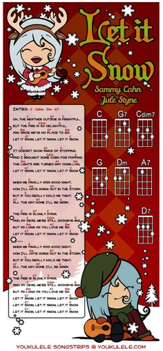 Fun Christmas songs for ukulele.