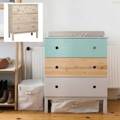 New to @thewarehousenz is a limited range of IKEA furniture! I am so excited, I present the first #IKEAhack... 5 ways with the IKEA Tarva 3 Drawer Chest Pine ($269) #thewarehousenzhacks #furniture #NewZealand #thewarehousenz #interiors #house #styling #style #hacks #shopthetrend #home #decor #DIY #DIYprojects Photo by Mommo Design